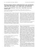 Báo cáo Y học:  Restoring enzyme activity in nonfunctional low erucic acid Brassica napus fatty acid elongase 1 by a single amino acid substitution