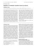 Báo cáo Y học: Regulation of mammalian translation factors by nutrients