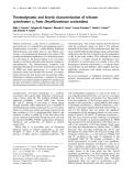 Báo cáo Y học: Thermodynamic and kinetic characterization of trihaem cytochrome c3 from Desulfuromonas acetoxidans