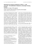 Báo cáo Y học:  Monitoring the structural consequences of Phe12 fi D-Phe and Leu15 fi Aib substitution in human/rat corticotropin releasing hormone Implications for design of CRH antagonists