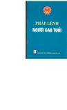 Ebook Pháp lệnh người cao tuổi - NXB Chính trị Quốc gia