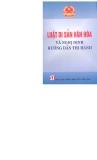 Ebook Luật di sản văn hóa và nghị định hướng dẫn thi hành - NXB Chính trị Quốc gia