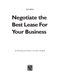 Negotiate the Best Lease For Your Business