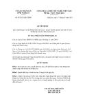 Quyết định số 07/2013/QĐ-UBND