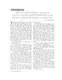 """Báo cáo """" Một số ý kiến về thực trạng và phương hướng hoàn thiện pháp luật về trọng tài kinh tế ở nước ta hiện nay"""""""