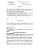 Thông tư số  03/2013/TT-BNNPTNTCỘNG HÒA XÃ HỘI CHỦ NGHĨA VIỆT NAM Độc lập - Tự do - Hạnh phúc --------------Hà Nội, ngày 11 tháng 01 năm 2013THÔNG TƯVỀ QUẢN LÝ THUỐC BẢO VỆ THỰC VẬT Căn cứ Nghị định số 01/2008/NĐ-
