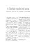 """Báo cáo """"   Vấn đề thế chấp quyền sử dụng đất để vay vốn ngân hàng theo qui định của Bộ luật Dân sự Việt Nam """""""