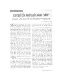 """Báo cáo """" Sự ra đời và phát triển của nền lập hiến Việt Nam"""""""