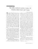 """Báo cáo """"Tìm hiểu chế độ quản lý kinh tế trong Hiến pháp Việt Nam """""""