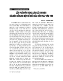 """Báo cáo """"  Góp phần xây dựng luận cứ cho việc sửa đổi, bổ sung một số điều của Hiến pháp năm 1992 """""""