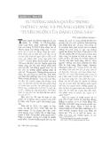 """Báo cáo """"Tư tưởng nhân quyền trong thời kì C.Mác và Ph.Ăngghen viết """"Tuyên ngôn của Đảng cộng sản"""" """""""
