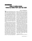 """Báo cáo """"    Công ty chứng khoán trong hệ thống pháp luật Việt Nam"""""""