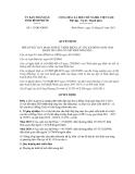 Quyết định số  115/QĐ-UBND