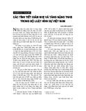 """Báo cáo """"    Các tình tiết giảm nhẹ và tăng nặng trách nhiệm hình sự Việt Nam"""""""