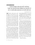 """Báo cáo """"Trách nhiệm liên đới bồi thường thiệt hại ngoài hợp đồng do người từ đủ 15 tuổi đến chưa đủ 18 tuổi gây ra """""""