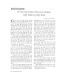 """Báo cáo """"Về các tội phạm tình dục trong Luật hình sự Việt Nam """""""