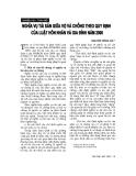 """Báo cáo """"Nghĩa vụ tài sản giữa vợ và chồng theo quy định của luật hôn nhân và gia đình năm 2000 """""""