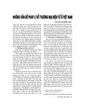 """Báo cáo """" Những vấn đề pháp lý về thương mại điện tử ở Việt Nam"""""""
