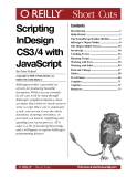 Scripting InDesign CS34 with JavaScript