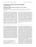 Báo cáo khoa học: Thermodynamic stability of porcine b-lactoglobulin A structural relevance