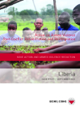 Action on Armed Violence  Post-Conflict Rehabilitation and Reintegration