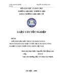 Luận văn tốt nghiệp: Giải pháp bảo mật thông tin khách hàng trong thanh toán trực tuyến tại ngân hàng nông nghiệp và phát triển nông thôn Việt Nam