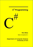 C Programming  #  Rob Miles Edition 3.0 September 2010