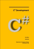 C Development#Rob Miles 2008-2009Department of Computer Science University of Hull.ContentsIntroduction....................................................................................................................... 11 Welcome ............