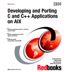Developing and Porting C and C++ Applications on Aix