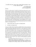 CÁNH ĐỒNG MẪU LỚN TRONG NÔNG NGHIỆP: MỘT SỐ VẤN ĐỀ LÝ LU ẬN VÀ THỰC TIỄN PHÁT TRIỂN