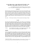 An ninh lương thưc và thực phẩm: Một số vấn đề về lý luận thực tiễn và định hướng chính sách cho Việt Nam