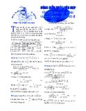 Dùng biểu thức liên hợp vào giải phương trình và hệ phương trình vô tỉ