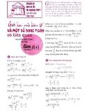 Giới hạn của hàm số và một số dạng toán có liên quan