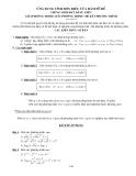 ỨNG DỤNG TÍNH ĐƠN ĐIỆU CỦA HÀM SỐ ĐỂ  CHỨNG MINH BẤT ĐẲNG THỨC - GIẢI PHƯƠNG TRÌNH - BẤT PHƯƠNG TRÌNH - HỆ BẤT PHƯƠNG TRÌNH