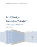 PRO/E DESIGN ANIMATION TUTORIAL