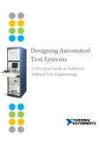Designing Automated  Test Systems - A Practical Guide to Software- Defined Test Engineering