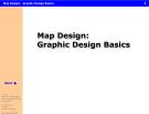 MAP DESIGN: GRAPHIC DESIGN BASICS