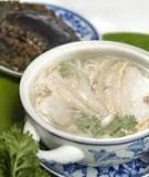 Soup bào ngư vi cá