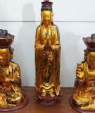 Ba Tượng Phật Sống
