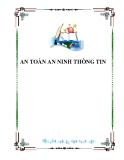 AN TOÀN AN NINH THÔNG TIN