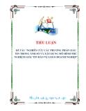 tiểu luận: NGHIÊN CỨU CÁC PHƯƠNG PHÁP GIẤU TIN TRONG ẢNH SỐ VÀ XÂY DỰNG MÔ HÌNH THỬ NGHIỆM GIẤU TIN BẢO VỆ LOGO DOANH NGHIỆP
