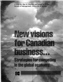 New visions for Canadian business ...