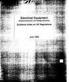 Electrical Equipment (implementing the Low Voltage Directive)