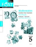 Mathematics  Sunshine State Standards  Test Book 5