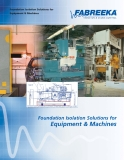 Foundation Isolation Solutions for Equipment & Machines