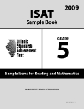 ISAT Sample Book 5: Sample Items for Reading and Mathematics 2009