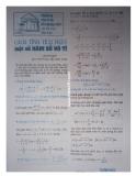 Cách tính tích phân một số hàm số vô tỉ