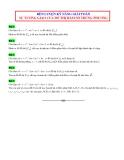 Rèn luyện kỹ năng giải toán sự tương giao của đồ thị hàm số trùng phương