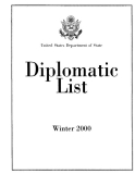 The diplomatic list