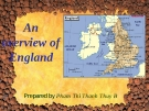 An overview of England